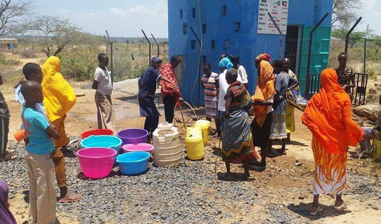 Directaid Water Projects Al-Saalihin Well - 2 3