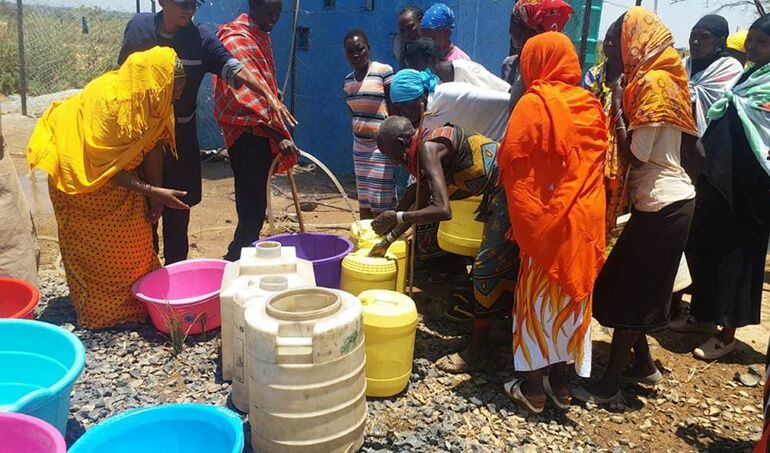 Directaid Water Projects Al-Saalihin Well - 2 4