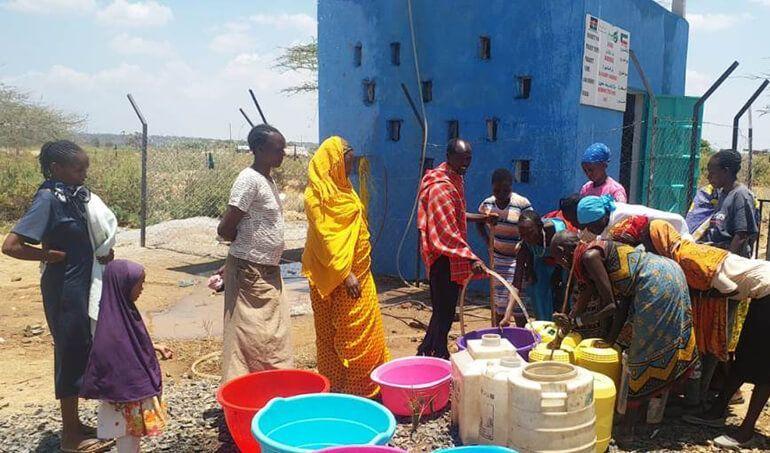 Directaid Water Projects Al-Saalihin Well - 2 5