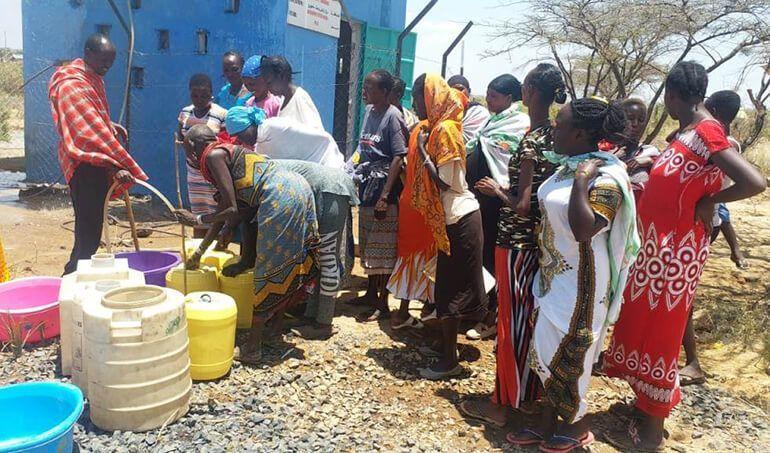 Directaid Water Projects Al-Saalihin Well - 2 6