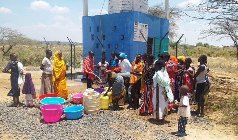 Directaid Water Projects Al-Saalihin Well - 2 7