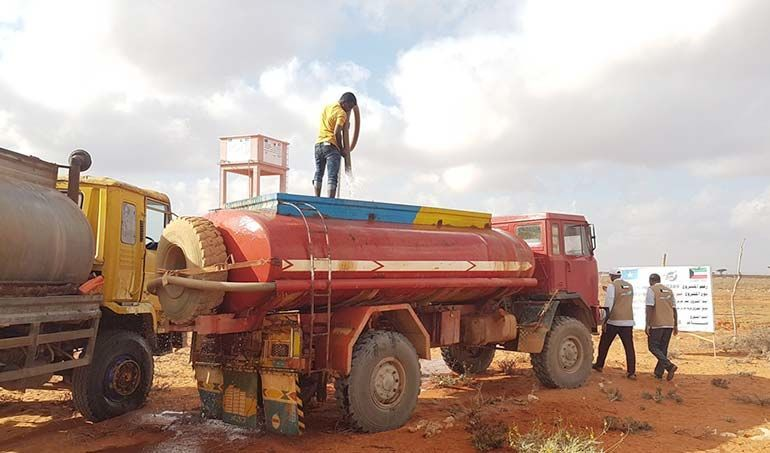 Directaid مشاريع المياه Seoul somalia Well 1