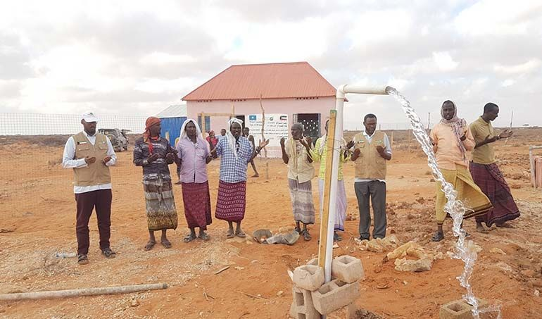 Directaid مشاريع المياه Seoul somalia Well 2