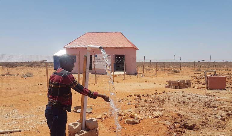 Directaid مشاريع المياه Seoul somalia Well 5