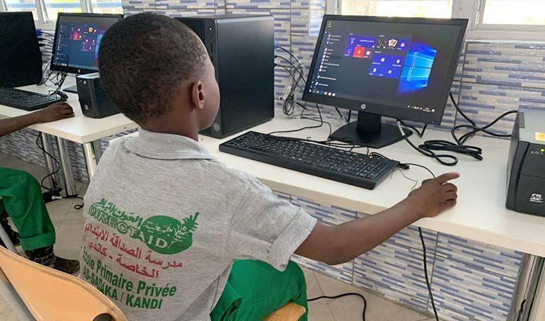 Directaid development Computer Center - Al-Najah Center 9