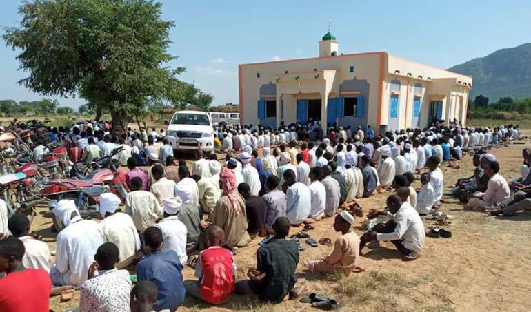 Directaid مساجد ومشاريع دعوية Mosque of Zou Albajadin 10