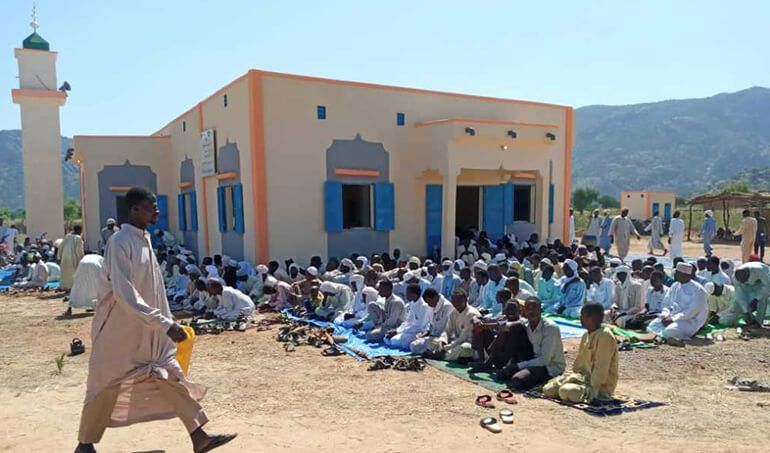 Directaid مساجد ومشاريع دعوية Mosque of Zou Albajadin 2