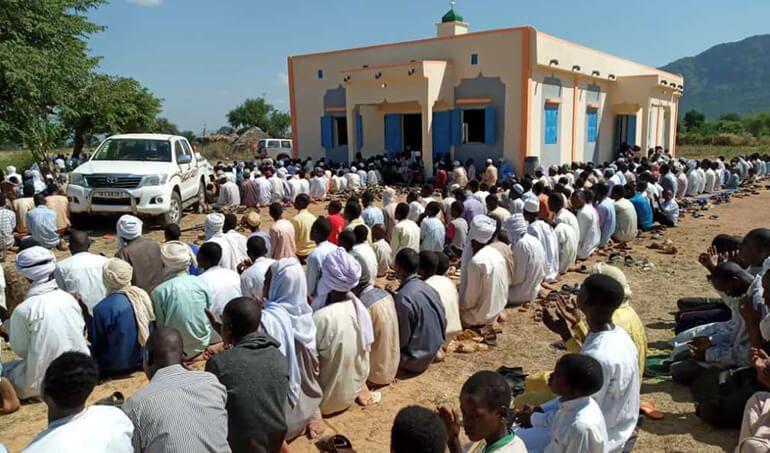 Directaid مساجد ومشاريع دعوية Mosque of Zou Albajadin 3