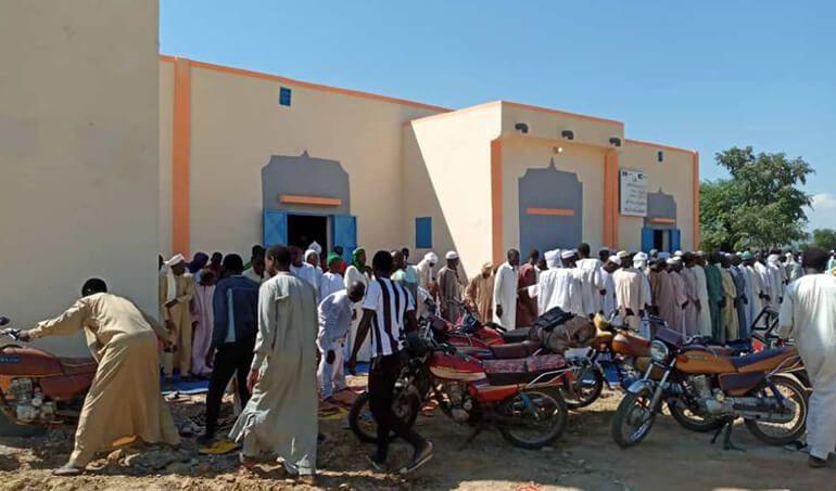Directaid مساجد ومشاريع دعوية Mosque of Zou Albajadin 6