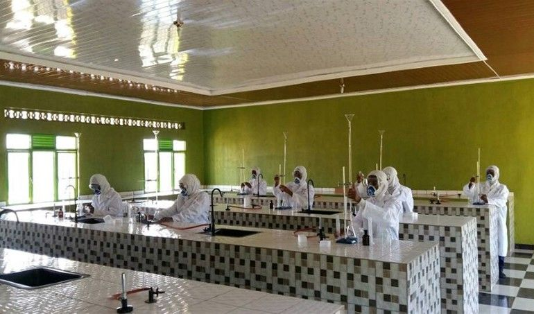 Directaid  Science Lab Equipment For High School Students in Benin 1
