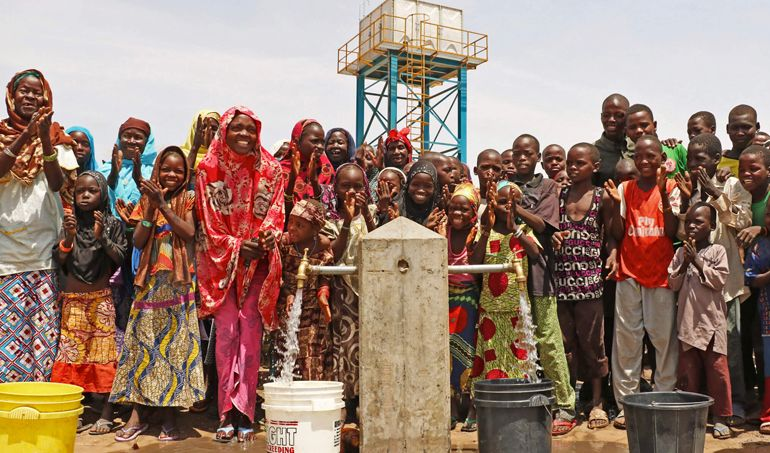 Directaid  AlJoud Well in Sudan 1