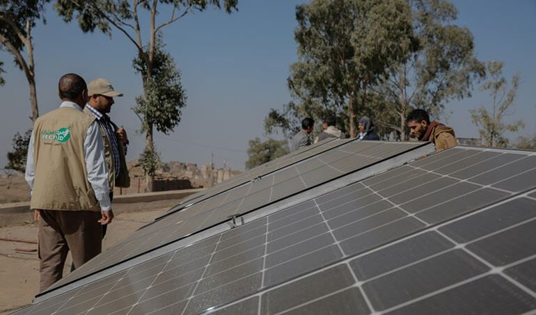 Directaid  Operating a Solar Health Clinic in Yemen 1