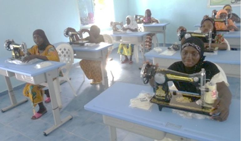 Directaid  Sewing Center - Benin 1