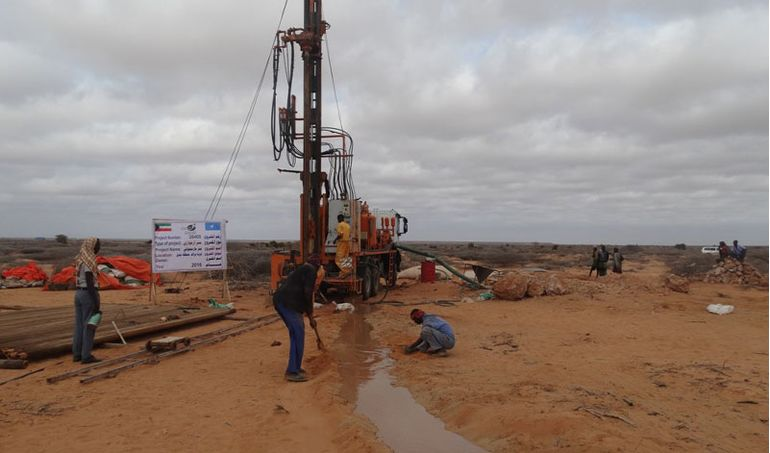 Directaid Water Projects Large artesian well - 3 - Masmoga 1