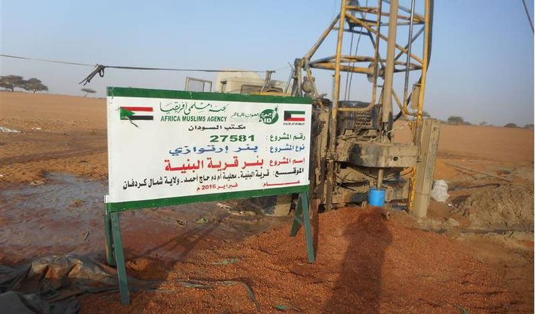 Directaid Water Projects Al-Bneya Village's Well 1
