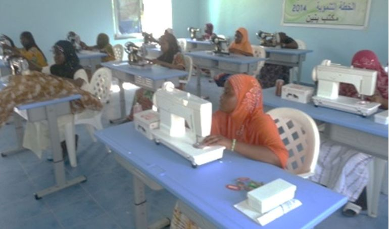 Directaid مشاريع التنمية Sewing Center - Benin 2