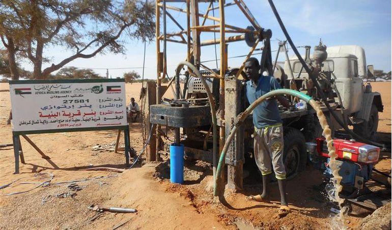 Directaid مشاريع المياه Al-Bneya Village's Well 2