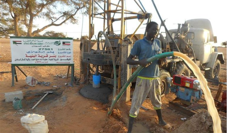 Directaid Water Projects Al-Bneya Village's Well 3