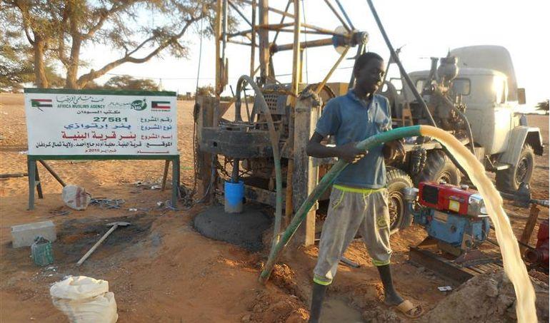 Directaid مشاريع المياه Al-Bneya Village's Well 3