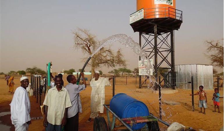 Directaid مشاريع المياه Al-Bneya Village's Well 4
