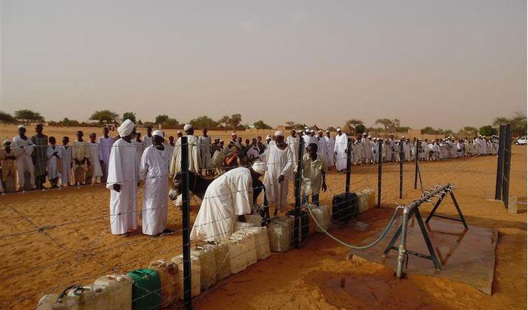 Directaid مشاريع المياه Al-Bneya Village's Well 5