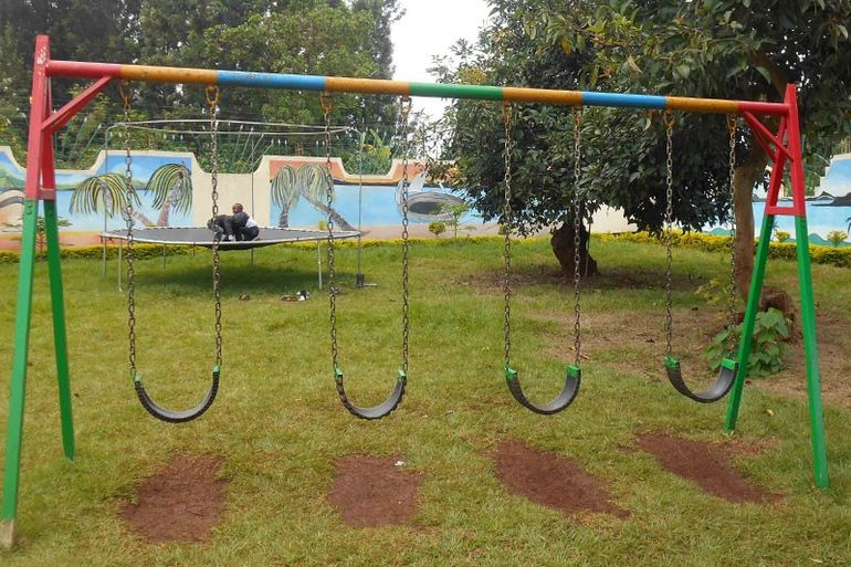 Directaid development Playgrounds for Gambia's orphans 1