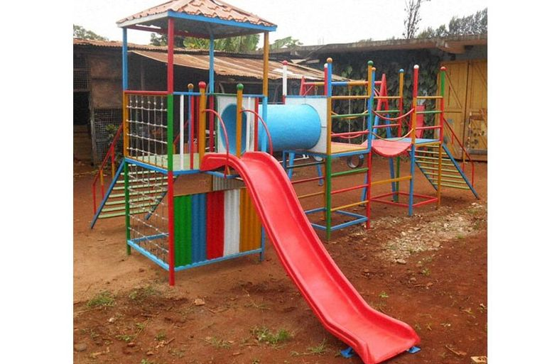 Directaid development Playgrounds for Gambia's orphans 4